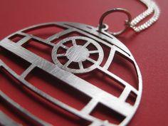 Star Wars Death Star Necklace.