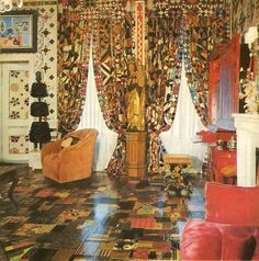 Gloria Vanderbilt Sitting Room