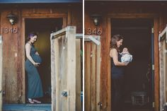 Couple Eric and Beth: Before & After the Arrival of Lena Rose | The Little Umbrella