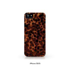 Tortoise shell  iPhone 5s/5/5c/4S/4 Case by juliakostreva on Etsy