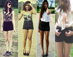 A peça curinga do seu verão, de acordo com o seu estilo! - Moda - CAPRICHO  Estilo Girlie,short de cintura alta!