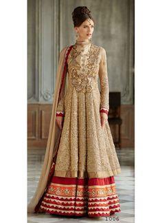 Anarkali Salwar Suit Party Ethnic patywear Long Embroidery Pakistani India Dress #GoodluckFashions #AnarkaliSalwarSuit
