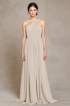 Jenny Yoo - Bridesmaid Dress: JACQUELINE - Champagne