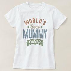 #Best Mummy T-Shirt - #giftidea #giftideas #gifts for #grandpa & #grandma #grandparents