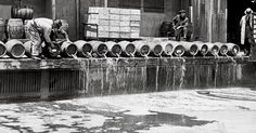 Disposing of alcohol during   prohibition