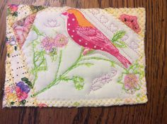 08/2015. Quilted card for Della.