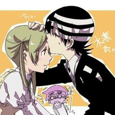 kid kiss maka x* ~poor soul T~T