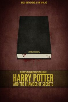 Harry Potter and the Chamber of Secrets minimalist poster