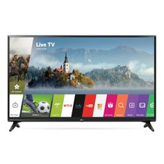 LG 32-inch Class LED 32LJ550B Television With WebOs