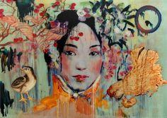 Hung Liu #contemporary #art #China. Ханг Лю, Китай pic.twitter.com/MAsR4R7mvw