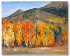 """Hoosier Pass, Autumn"" by Jennifer Riefenberg"