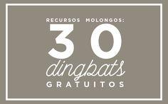 recursos molongos: dingbats