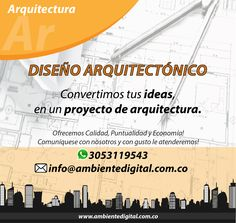 Conoce nuestros #Servicios  Ofrecemos una atención #profesional y personalizada! #Arquitectura #Diseño #Bogotá #Colombia #FelizLunes Bogota Colombia