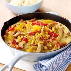 Hänchengeschnetzeltes mit Reis Rezepte | Weight Watchers