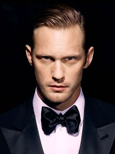 Alexander Skarsgard. Look at those eyes.