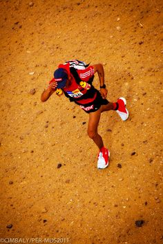Marathon Des Sables 2012 - picture taken from the support helicopter