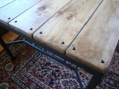 This would be perfect to do on my ikea table n a different stain IKEA Granas table rustic makeover: from glass top to wood.