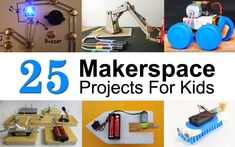 These STEM projects & activities for kids are perfect for the makerspace. Simple, easy and very cost effective. Make a car from cardboard or a boat from a soda bottle. Maker education is fun for all ages.