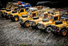 Defender Hong Kong Camel Team meeting up to do scale RC together. Check out Boom Racing for your parts and upgrades. Land Rover Defender 110, Landrover Defender, Nitro Boats, Boat Radio, Land Rover Models, Remote Control Boat, Rc Rock Crawler, Range Rover Classic, Custom Hot Wheels