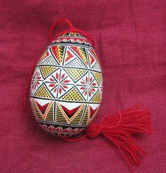 Premium class hand painted real easter egg from Ukraine 'Pysanka Pisanka'