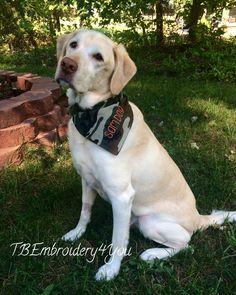 Personalized Camo Dog Bandana,Custom Bandana by TBEmbroidery4You on Etsy
