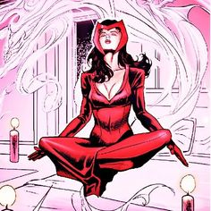 The scarlet witch (this would be a cool tattoo!!!)