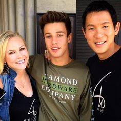 Lunch connecting Cameron Dallas whose A Positive Message video about his myintent bracelet has inspired millions of his fans.