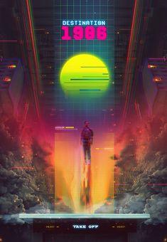 Synthwave Destination 1986