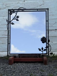 Hand Forged Mirror