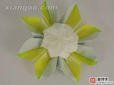 origami daisy a