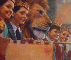 Christian Birmingham Illustration | Narnia. Coronation.