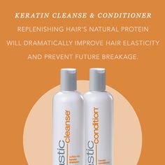 """The breakage stops here. Comment """"Keratin"""" for the chance to win some free product. #Shampoo #Conditioner #KeratinFree #AlwaysBeFantastic"""