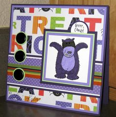 Halloween Card #my-afternoons-delight #StampinUp