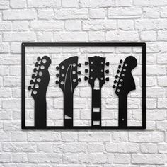 Guitars #metal #wallart #decoration #decor #homedecor #home #idea #gift #shopping #metalart #wallhanging #walldecor #interior #steel #decorations #interiors #pinterest #raayt #sign #wallsign #diy #homedecorationidea #ideas #product #feather #feathers #geometric #geometry #minimal #minimalist #office #guitar #guitars #music