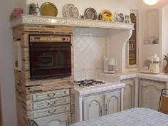 Risultati immagini per кухня из кирпича