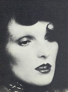 @ReelStyle Grace Coddington in the modeling years.