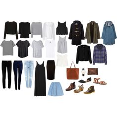 Created my own 5 piece wardrobe capsule based on the French system. Excited to see I already have most of these items that are really good quality and have been slowly collected over the years! Still remaining pieces to invest in are: 3/4 sleeve black top, grey and white tank, black pencil skirt, boyfriend jeans, rain coat, leather bag, leather watch, flats and I wouldn't mind another pair of ankle boots in black to extend my winter wardrobe!