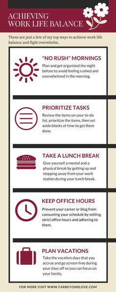 Work-Life Balance Tips You Probably Haven\u0027t Heard Before Work life - work tips
