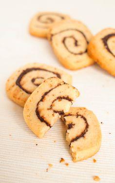 Hazelnut Chocolate Swirl Cookies榛子朱古力旋渦曲奇