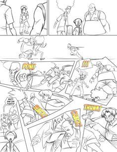 webcomic, gotta pee! When you gotta go, you gotta go. Stop