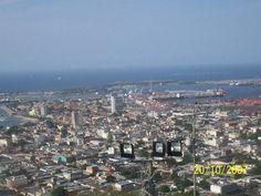 vista de los muelles y el sector colonial de la ciudad de Puerto Cabello