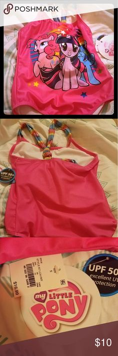 My little pony swimsuit I got the wrong size and couldn't returned it cuz I lost the ticket.. new never used.. My Little Pony Swim One Piece