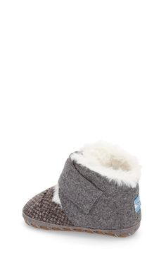 TOMS 'Cuna' Boot (Baby) available at #Nordstrom  In Gray