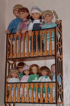 Тот самый балкон / Домики для кукол, мебель своими руками. Коляски, кроватки и другое / Бэйбики. Куклы фото. Одежда для кукол