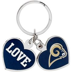 Revamping your on-the-go style just got easier! Rep your team wherever you go with your Los Angeles Rams love keychain.