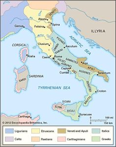 Location Map Showing Amalfi Coast In Italy