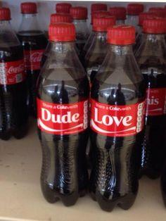 Dude Love.. Thanks #Coke! #WWE