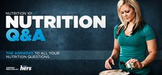 A great article on common nutrition questions. Bodybuilding.com - Nutrition 101: Nutrition Q & A