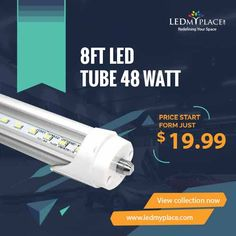 LED tubes starts via on off switch without producing any kind of flickering or buzzing sound unlike the sounds produced by fluorescent tubes on turning them on.