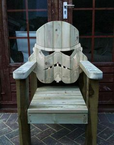 Star Wars Seats - The Stormtrooper Lawn Chair is the Perfect Geek Relaxation Device (GALLERY)